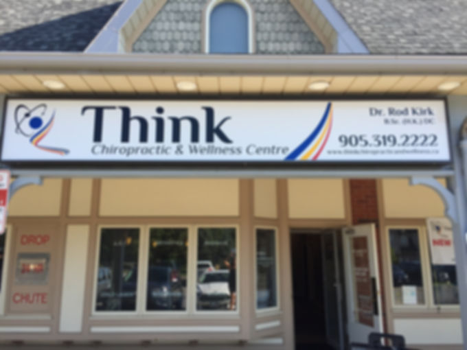 WELCOME to Think Chiropractic & Wellness Centre