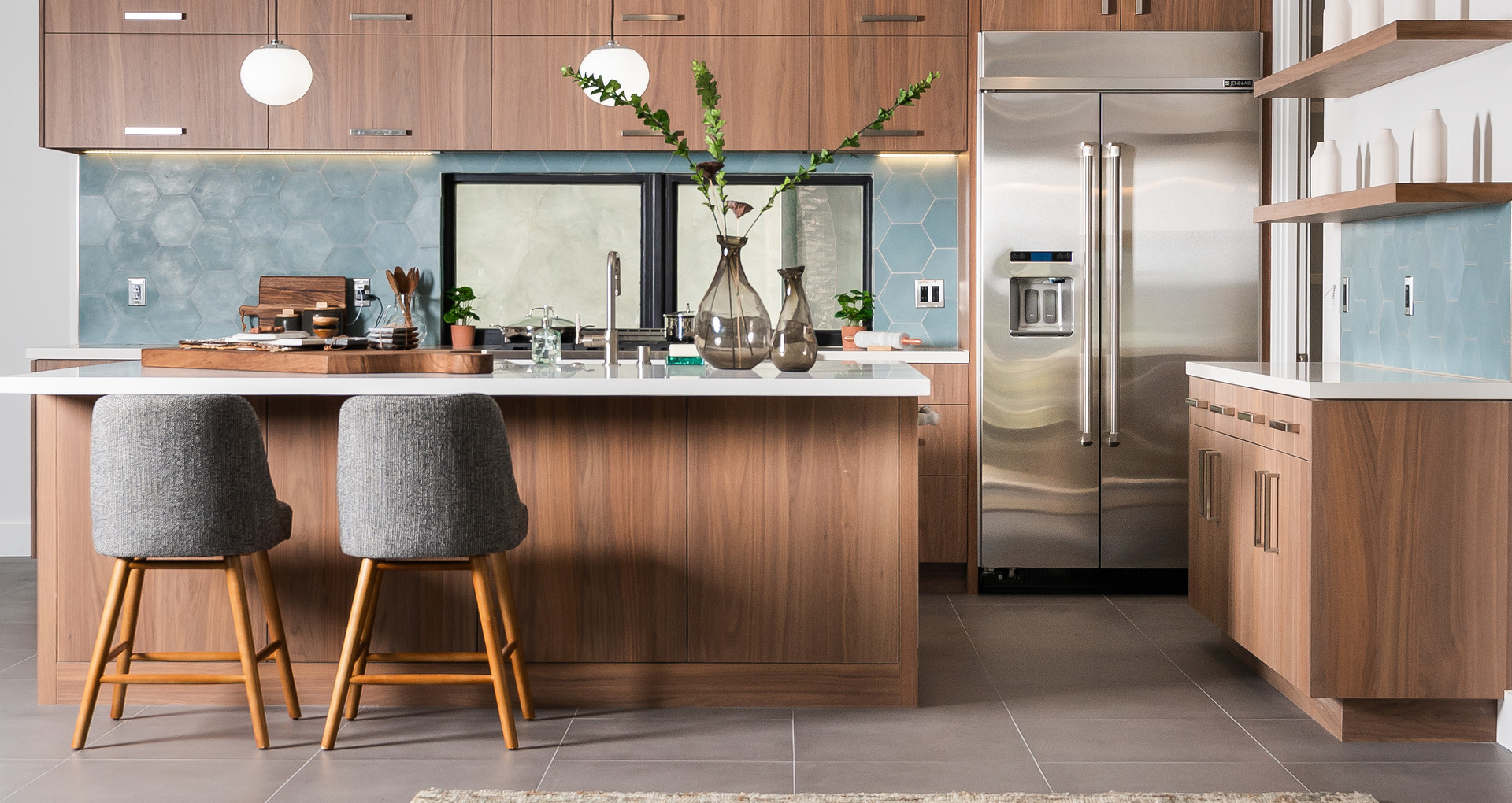 Kitchen Staging Modern