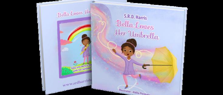 "Paperback ""Bella Loves Her Umbrella"" Book"