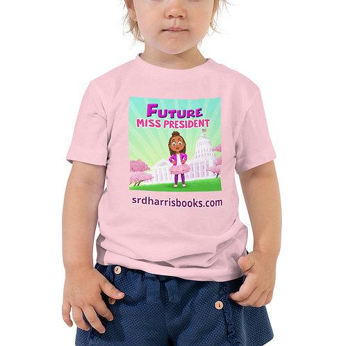 Future Miss President Toddler Short Sleeve Tee