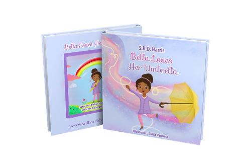 "Paperback ""Bella Loves Her Umbrella"" *PRE-ORDER* Book"