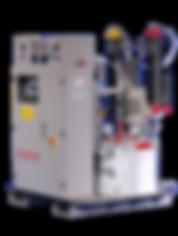 Low pressure metering machine cannon usa