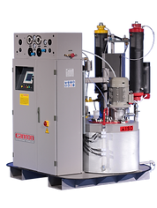 Low pressure metering machine cannon usa