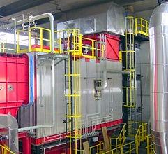 Chaudière biomasse fluide thermique