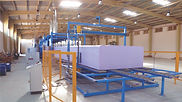 Slabstock foam - polyurethane foaming equipment