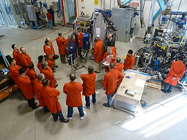 Polyurethane foaming machines training