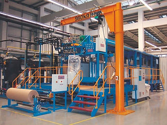 slabstock continuous foaming line
