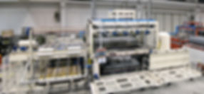 industrial thermoforming machine