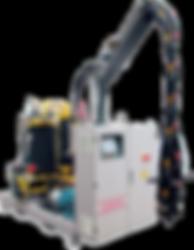 High pressure metering machine cannon usa