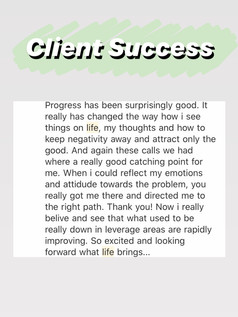 Client success 17