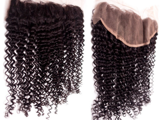 13x4 Malaysian Curly Lace Frontal