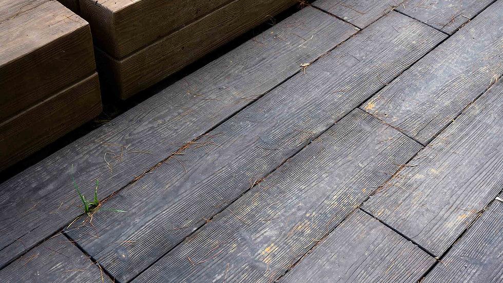 仿木紋石板