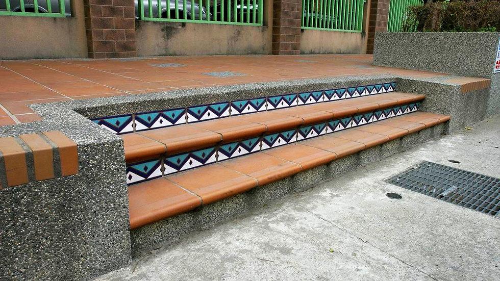 階梯陶板組