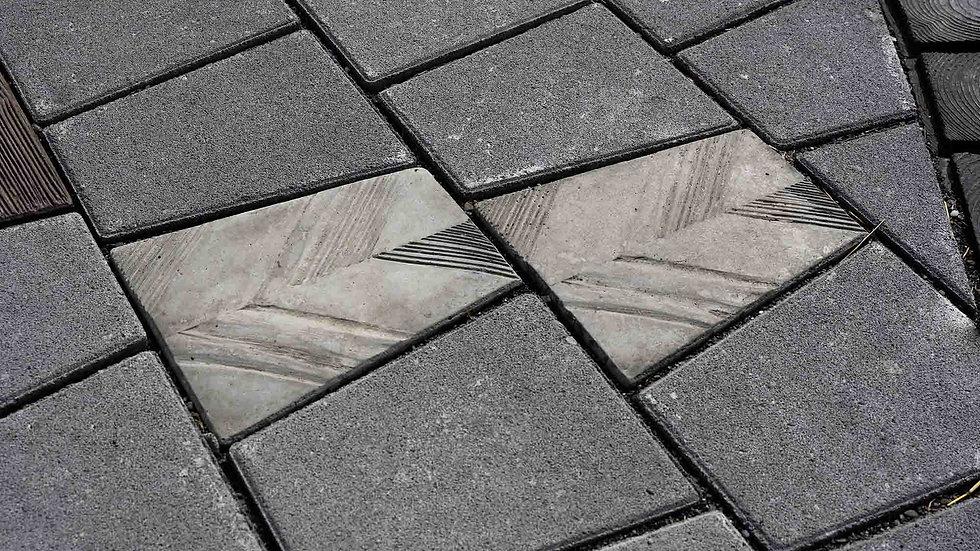 組合磚-斜木紋