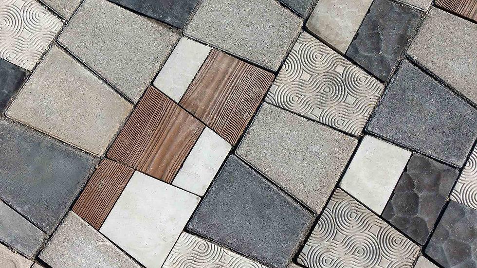 組合磚-自然紋理