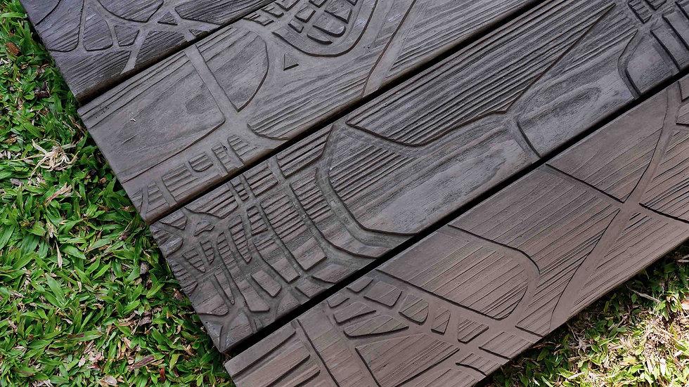 平板磚-木紋面-城市漫步