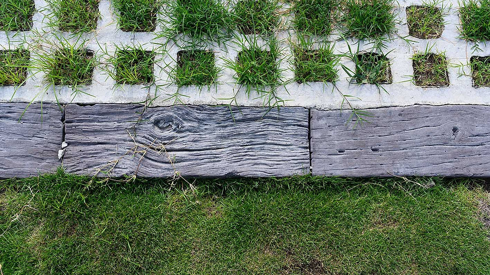 緣石-枕木面
