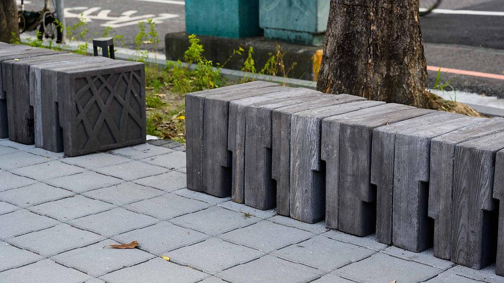 組合座椅-清水木紋面