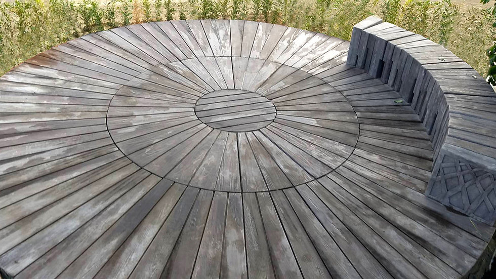 木紋組合圓