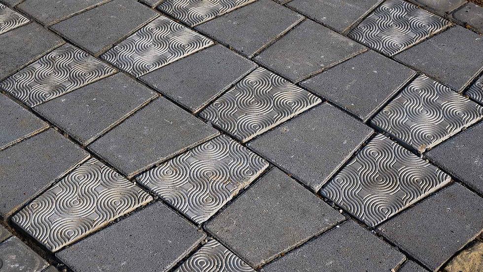 組合磚-水波紋