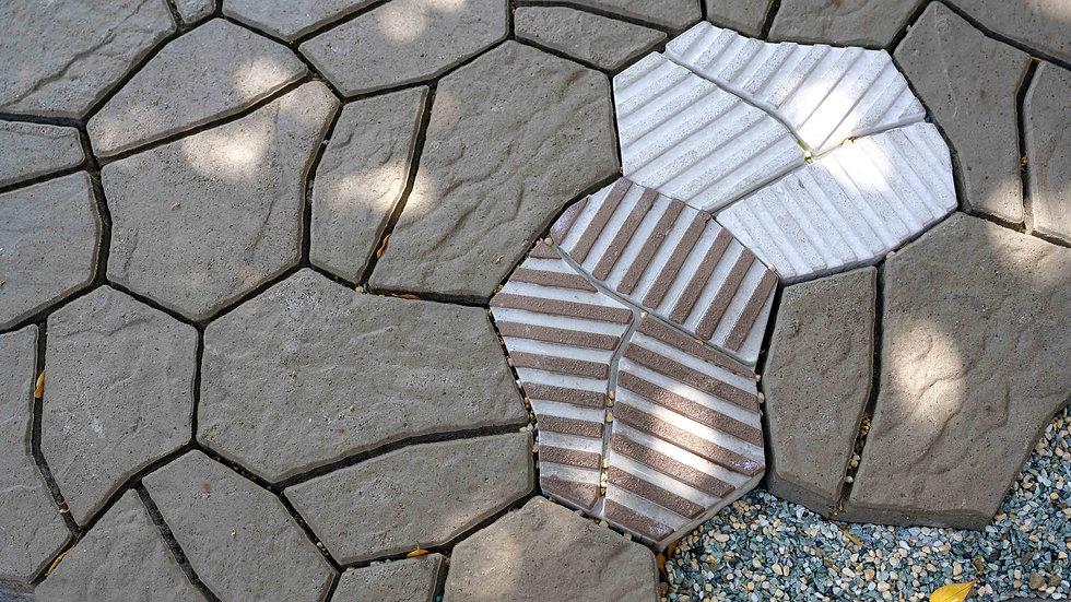 組合磚-石刻