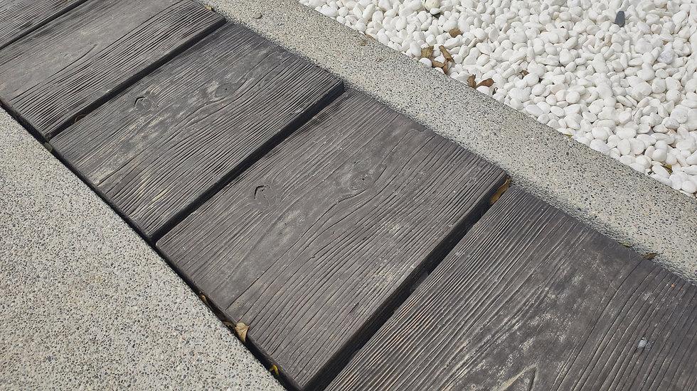水溝蓋板-仿木紋面