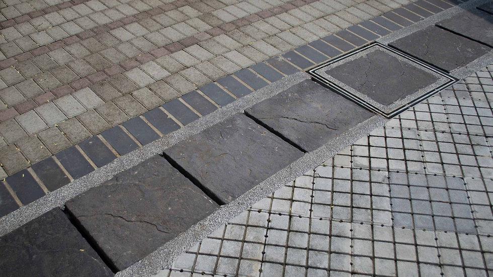 水溝蓋板-仿岩面