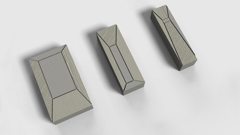 組合磚-幾何梯型