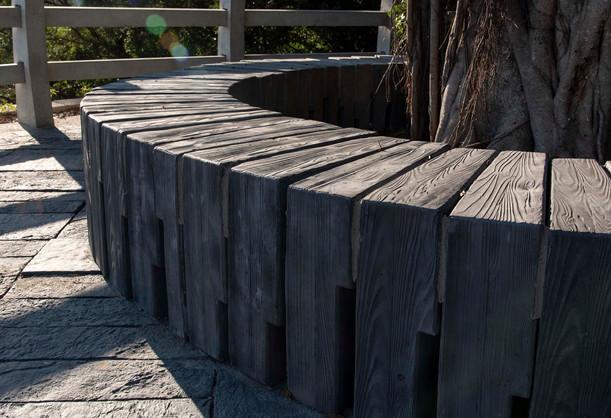 清水木紋面組合座椅