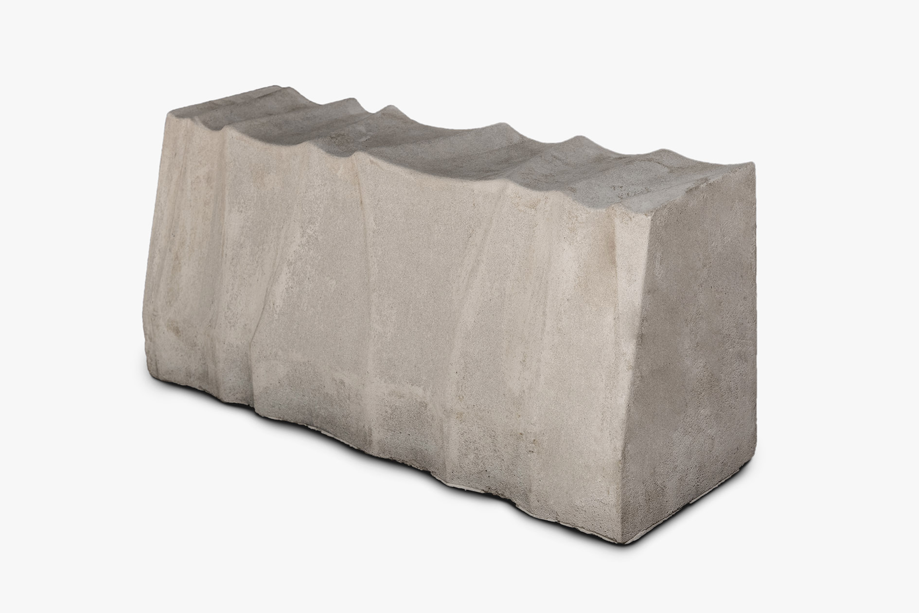 緣石-蝕岩面 [L60*W(15,20.5)*H27cm]
