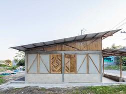 【建築】一週內搭建而成的墨西哥農村社會住宅 by Eleanor Gibson