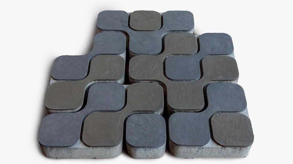 組合磚-如意造型