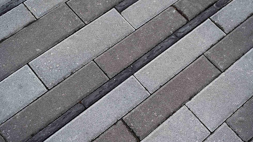 組合磚-仿石條