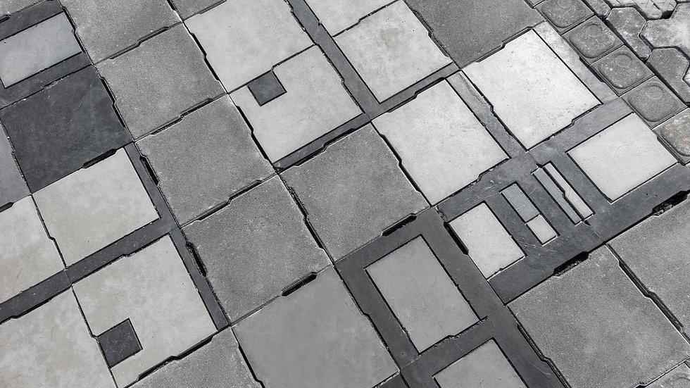 組合磚-蒙德里安1號磚