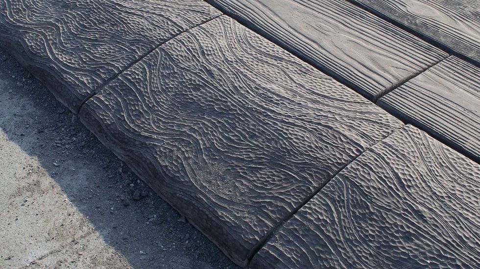 斜坡緣石-流動紋理