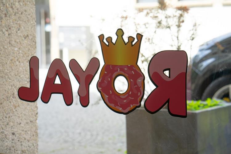 Royal bedruckt Innenseite