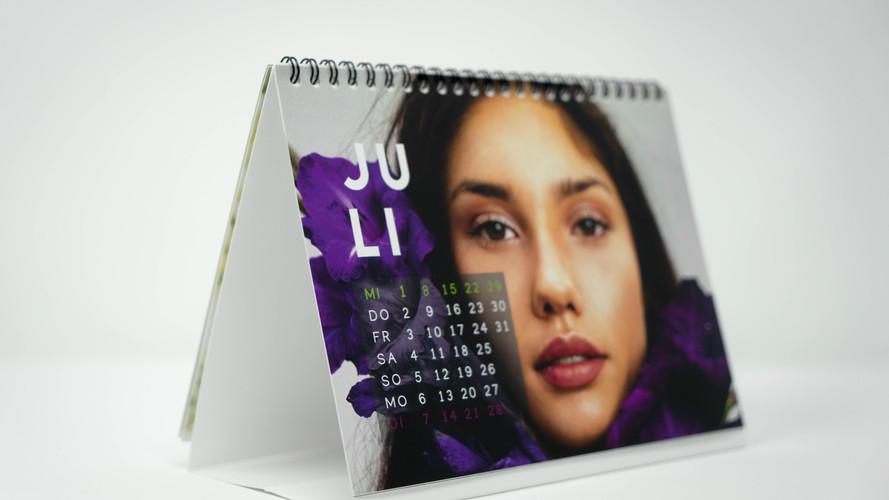 Monatskalender, Tischkalender