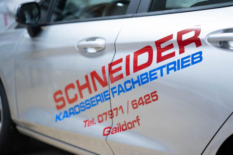 Schneider Folierung