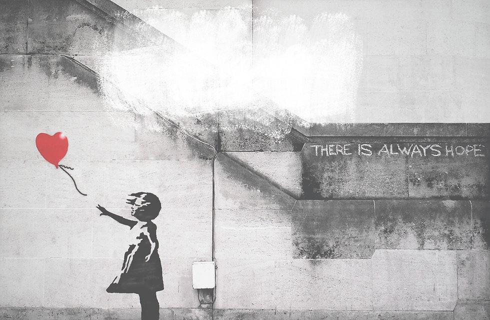 Graffiti mit Herz