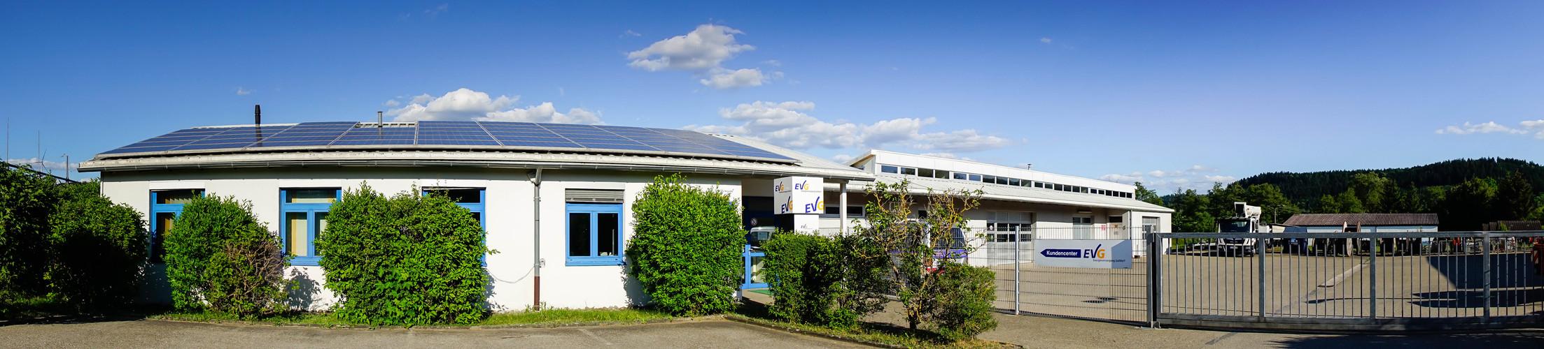 Panorama Aufnahme EVG Verwaltung