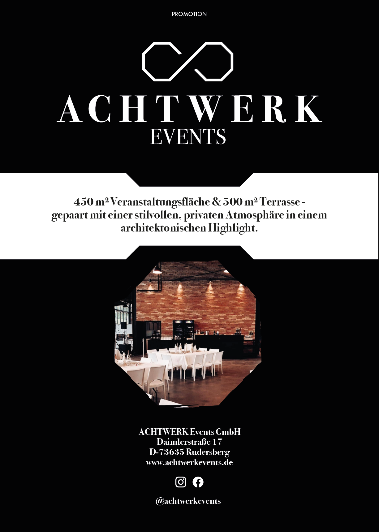 Promotion Achtwerk EVENTS