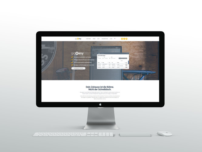Website Einbindung