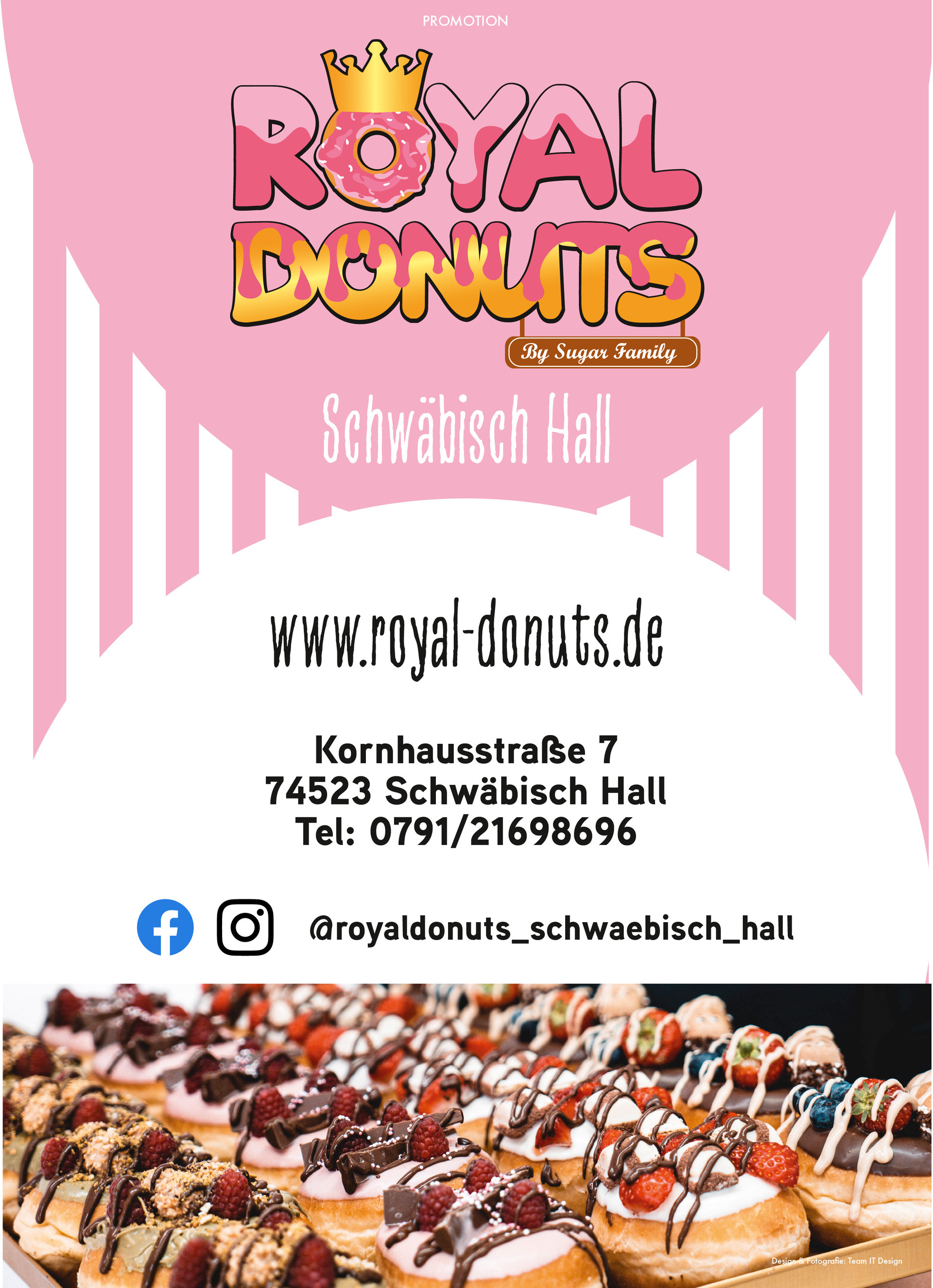 Royal Donuts Promotion