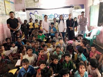 Free Dental Checkup Camp for Slum kids