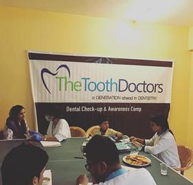 Free Dental Checkup Camp