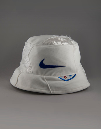 Bucket hat designed by Georgina Hunt to celebrate the FIFA Women's World Cup (2019).