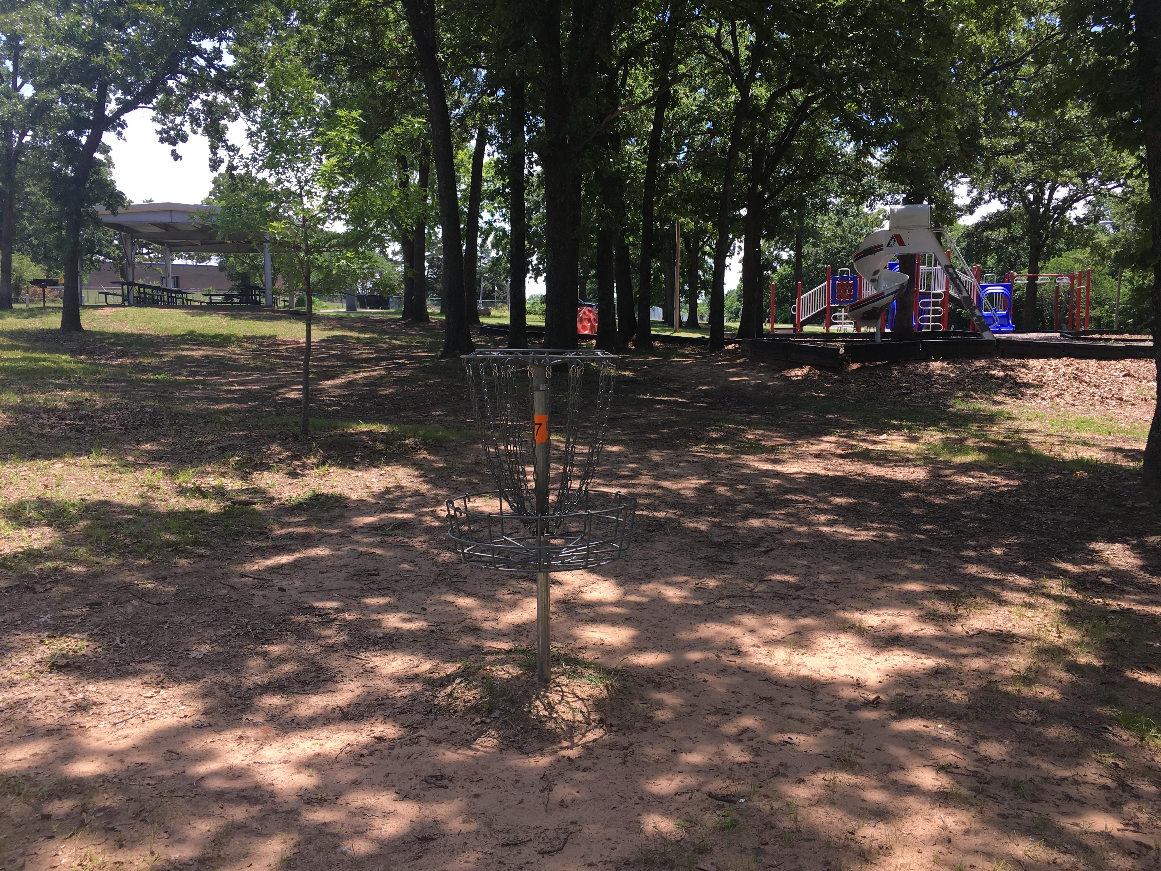 Disc Golf Lions Park