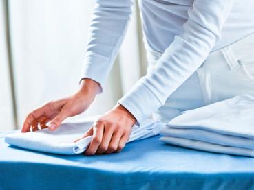 Passando roupas sem traumas na Suíça