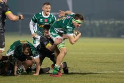 I Leoni vanno vicini all'impresa, ma allo scadere vince Munster 18-16