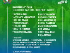 Sei Nazioni U20, il XV degli Azzurrini per la sfida all'Inghilterra